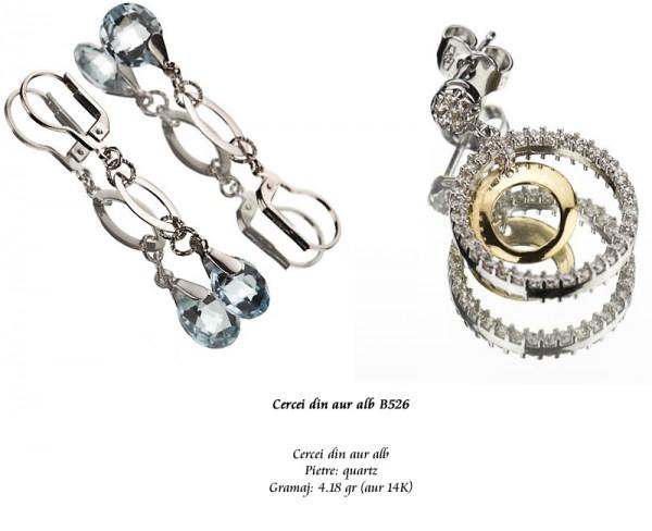 Cercei-din-aur-alb-B526