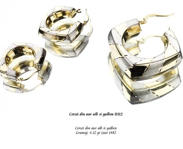 Cercei-din-aur-alb-si-galben-B512