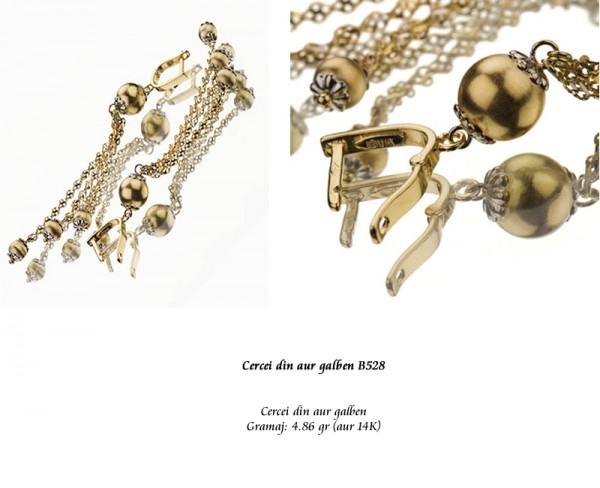 Cercei-din-aur-galben-B528