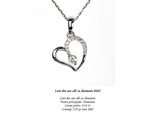 Lant-din-aur-alb-cu-diamante-B652